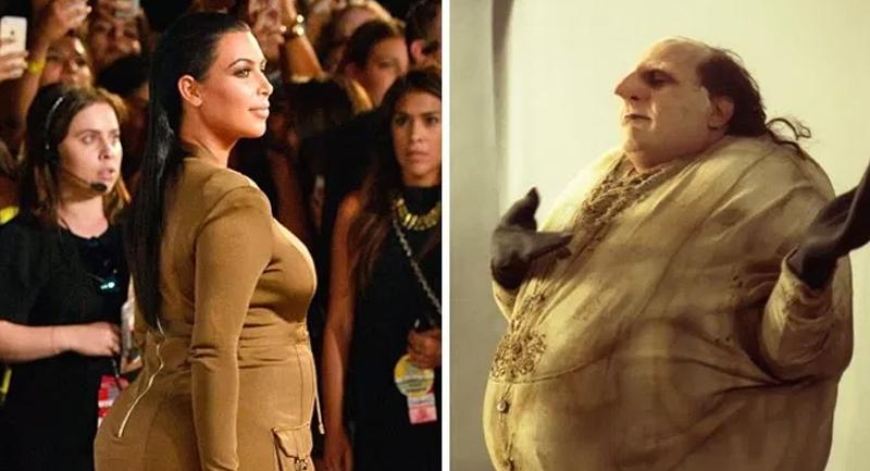 Pas sûr que Kim Kardashian apprécie cette comparaison