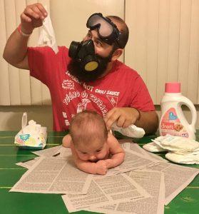 Expérience scientifique : portez vos masques