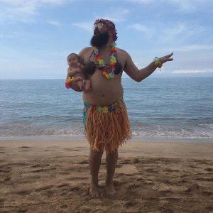 Sur les plages de Tahiti