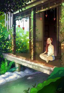 Je peux méditer sereinement