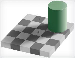 C'est probablement l'illusion d'optique la plus tenace de tous les temps !