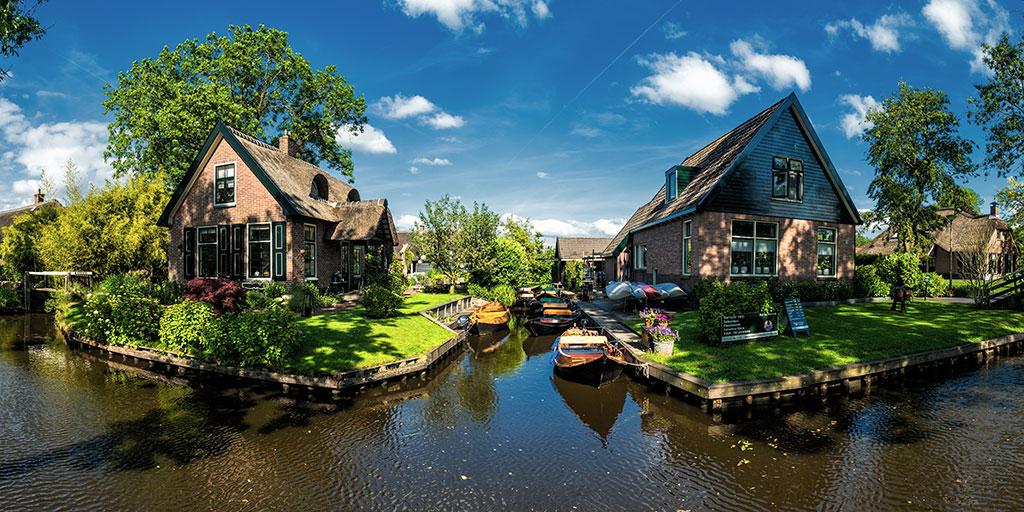 Giethoorn, un endroit à visiter dans une vie