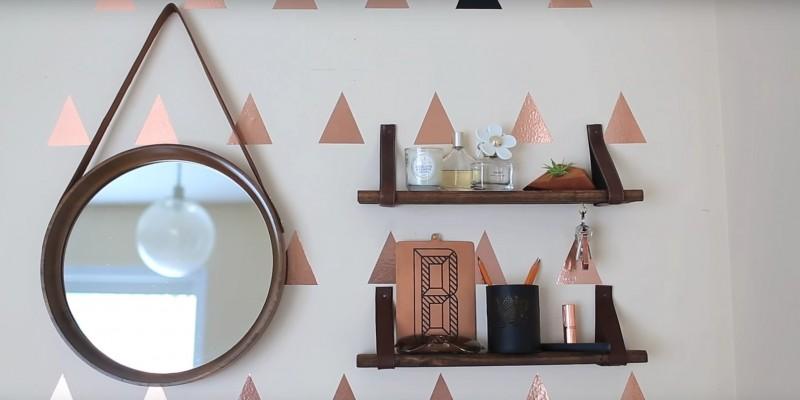 Évitez les objets lourds ou autrement, percez un trou dans le mur.