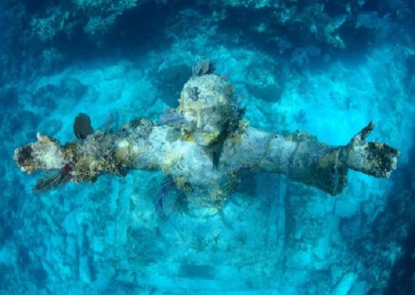 Le Christ des Abysses – San Fruttuoso (Italie)