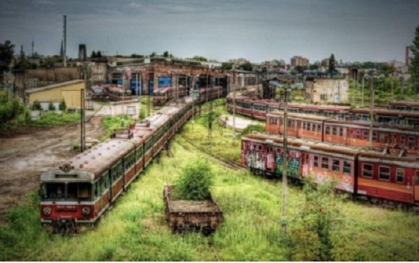 Dépôt de trains – Czestochowa (Pologne)