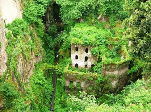 Moulin abandonné – Sorrento (Italie)
