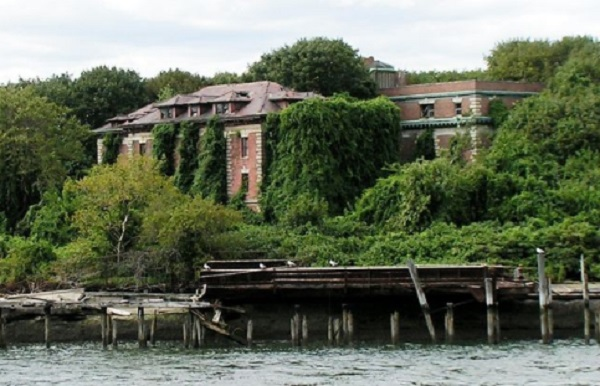 L'île abandonnée de North Brother – New York City