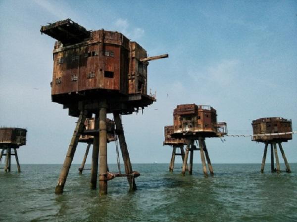 La forteresse maritime de Maunsell – Angleterre