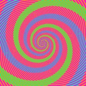 Quelle est la couleur des spirales?