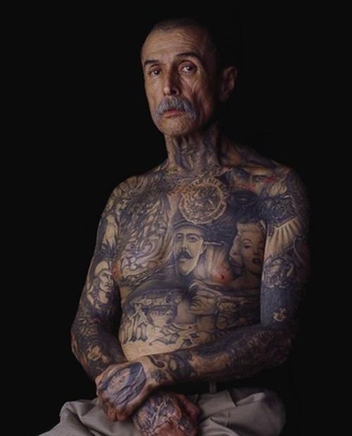 Les tatouages en disent long sur le passé d'une personne