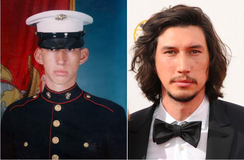 Adam Driver a rejoint les formes marines US durant 2 ans après la tragédie du 11 septembre