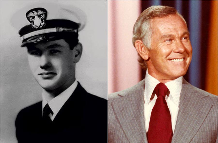 Johnny Carson a servi dans l'U.S. Navy