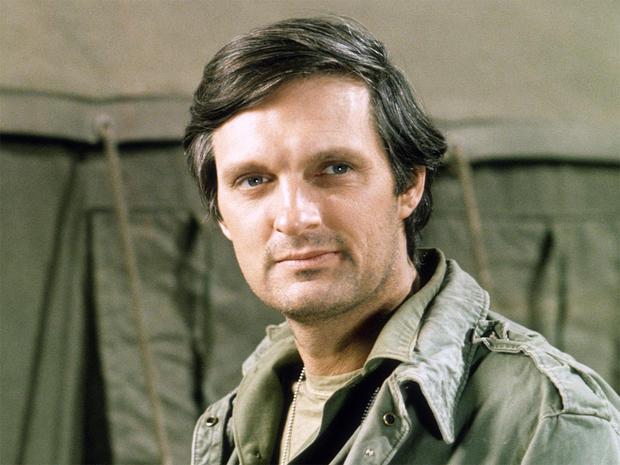 Alan Alda a intégré la réserve militaire avant ses apparitions TV