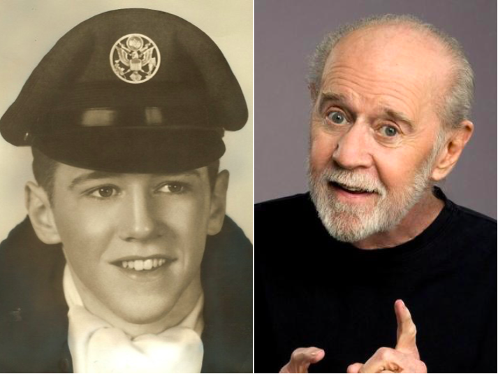 George Carlin avait rejoint l'Air Force US