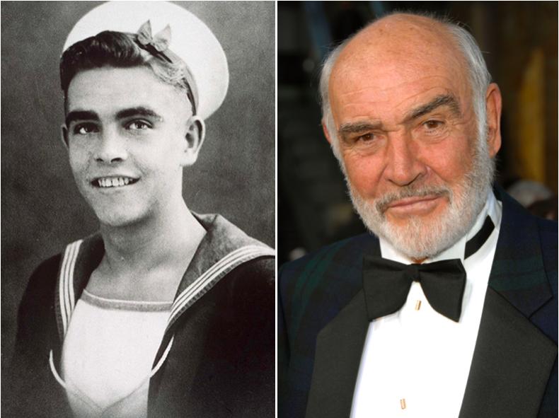 Sean Connery fut membre de la Royal Navy durant 3 ans et l'a rejoint à ses 16 ans.