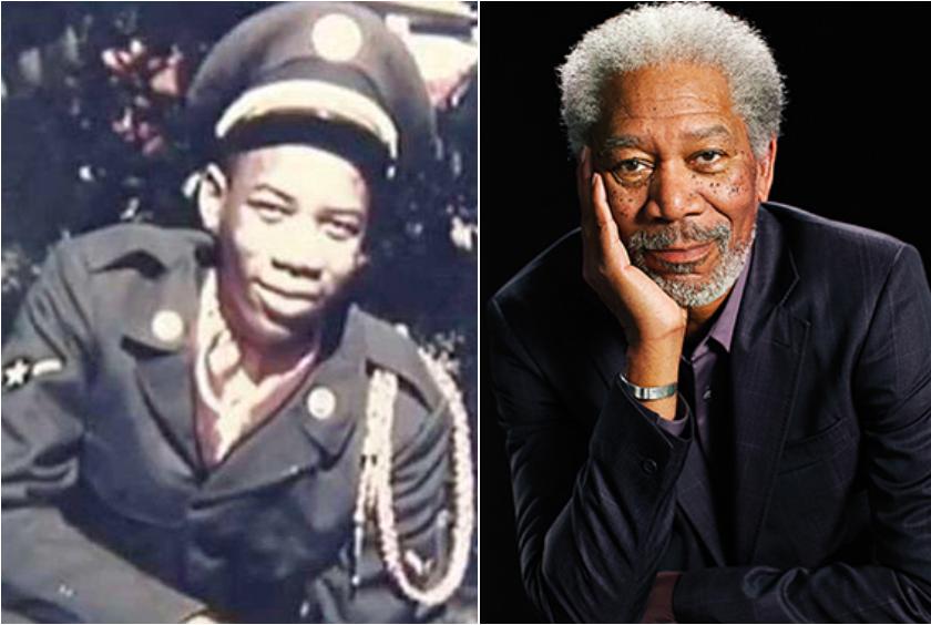 Morgan Freeman a intégré l'U.S. Air Force durant 3 années