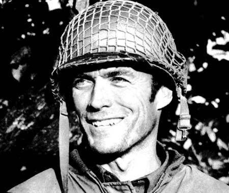 Clint Eastwood a servi dans l'armée américaine et a fait la Guerre de Corée