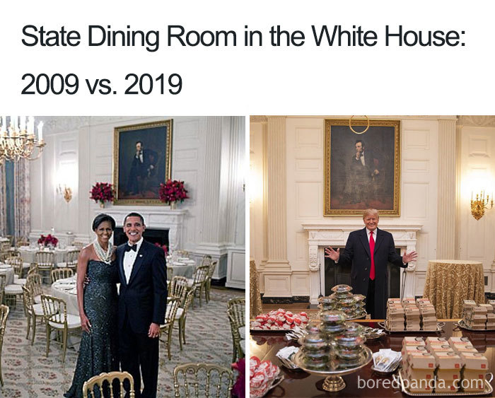Salle à diner de la Maison Blanche