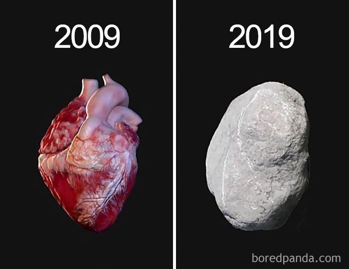 Devenu coeur de pierre