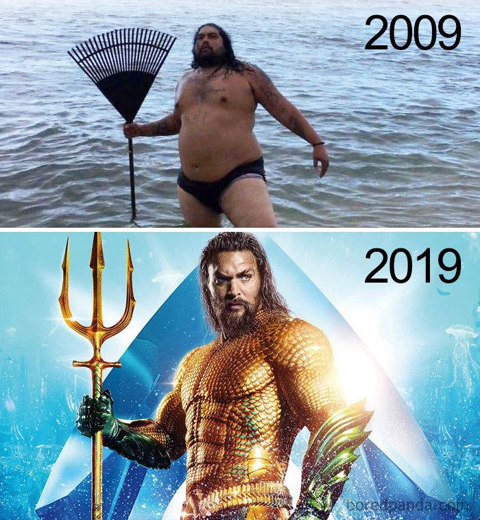 Le Dieu de la mer…