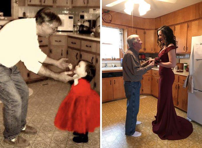 <b>L'amour qu'une fille porte à son père ne changera jamais. La preuve !</b>