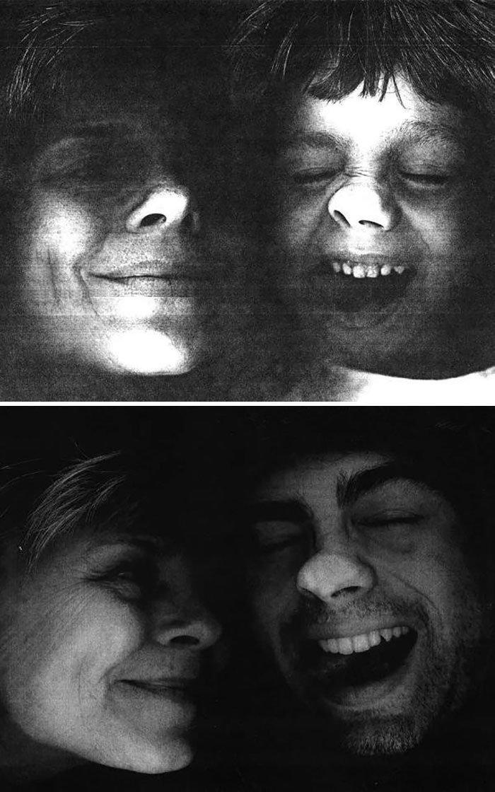 <b>Des années après, la photocopieuse est de retour pour cette maman et son fils.</b>