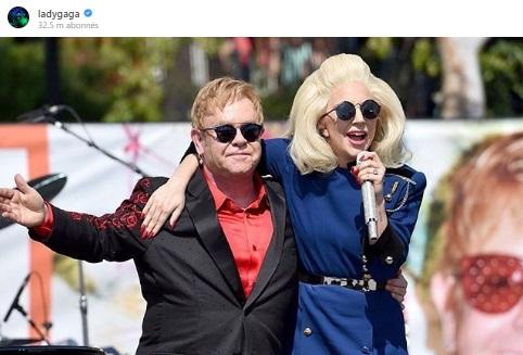 <b>Elle est la marraine du fils d'Elton John</b>